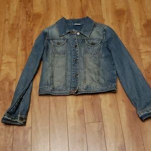 Converse jean jacket